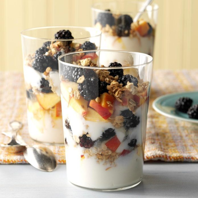 Day 2 Breakfast: Rise and Shine Parfait