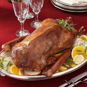 Roast Christmas Goose
