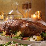 Roast Goose with Sweet Glaze