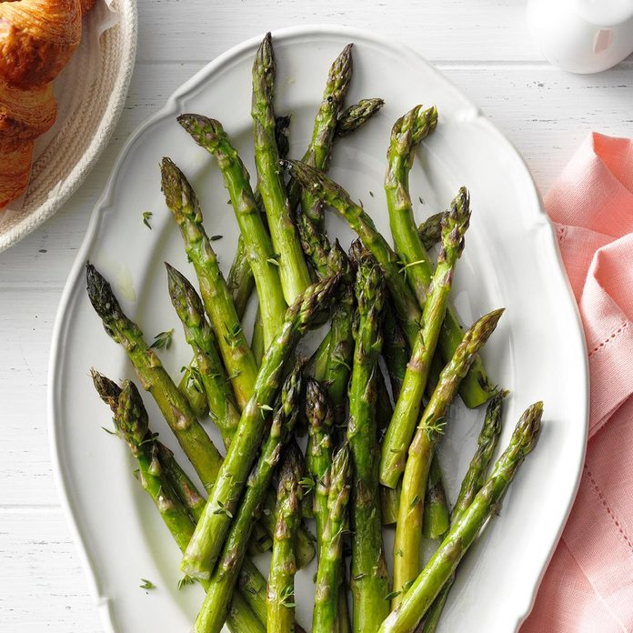 Roasted Asparagus With Thyme