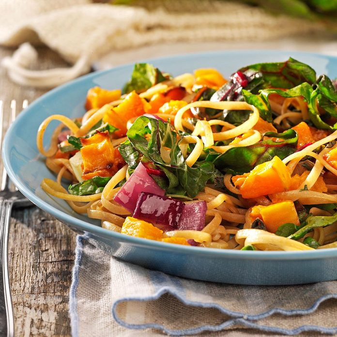 Sunday's Lunch: Roasted Butternut Linguine