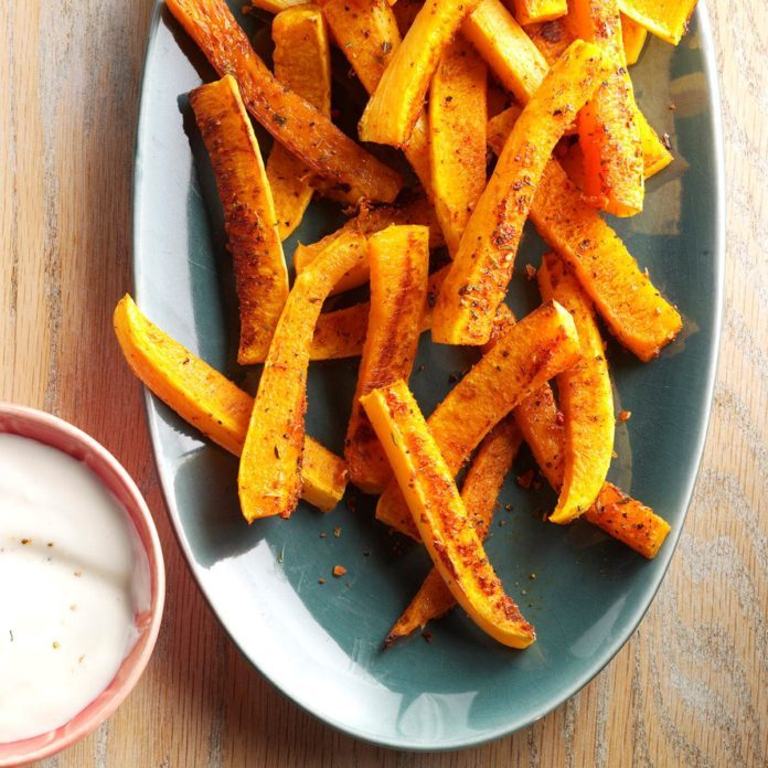 Roasted Butternut Squash Dippers