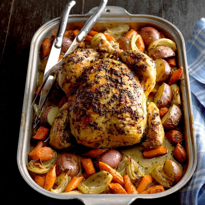 Roasted Chicken with Rosemary