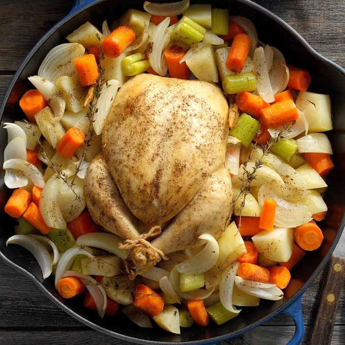 How To Roast A Chicken Perfectly Every Time Taste Of Home