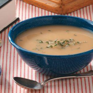 Roasted Onion & Garlic Soup