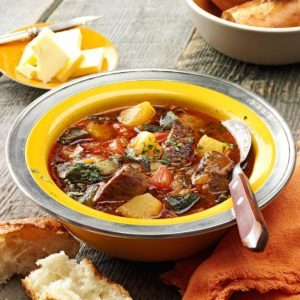 Roasted Poblano Beef Stew