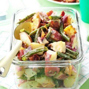 Roasted Potato & Green Bean Salad