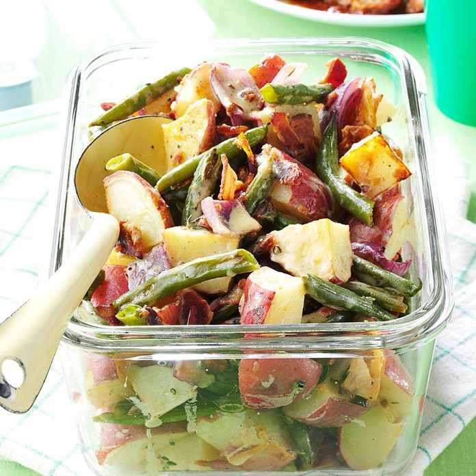 Roasted Potato & Green Bean Salad