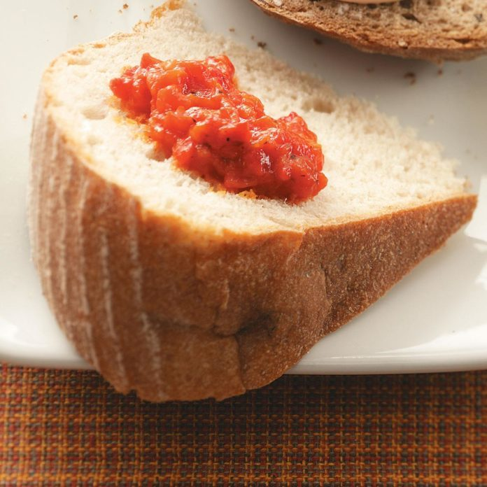 Roasted Red Pepper Spread