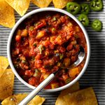 A 7-Day Meal Plan Starring Salsa