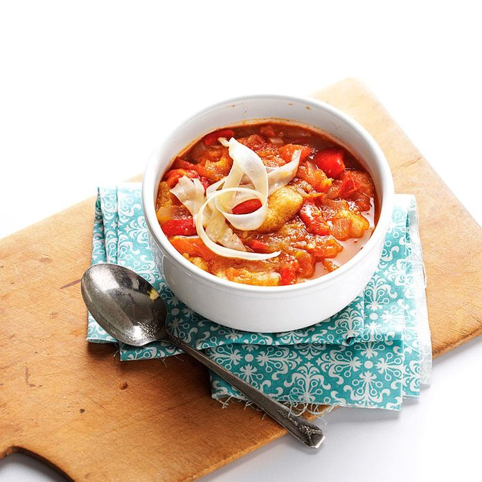 Roasted Tomato and Pepper Soup