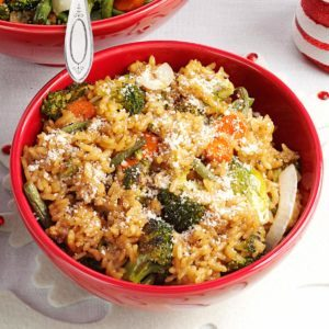 Roasted Vegetable Risotto