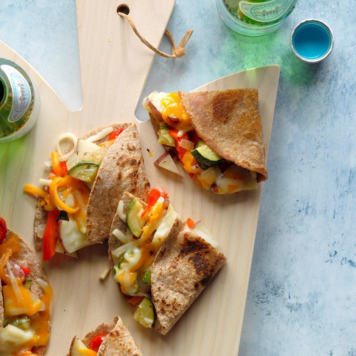 Roasted Veggie Quesadillas