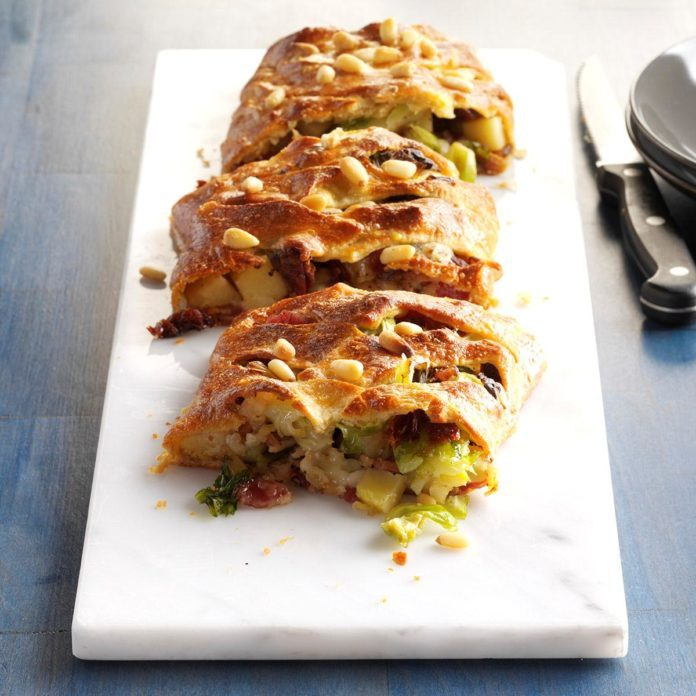 Roasted Veggie Strudel