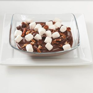 Rocky Road Pudding Cups
