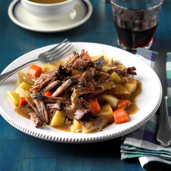 Day 19: Root Vegetable Pot Roast
