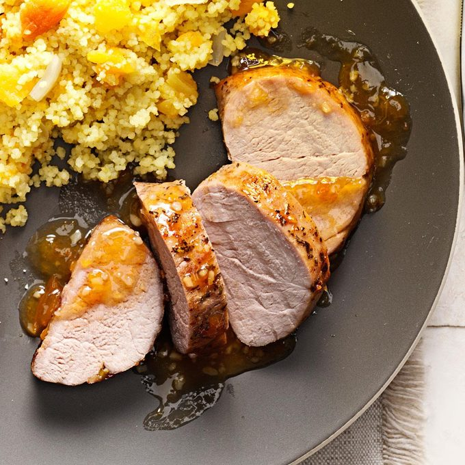 Rosemary-Apricot Pork Tenderloin