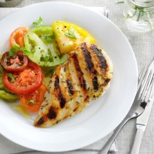 Rosemary-Lemon Grilled Chicken