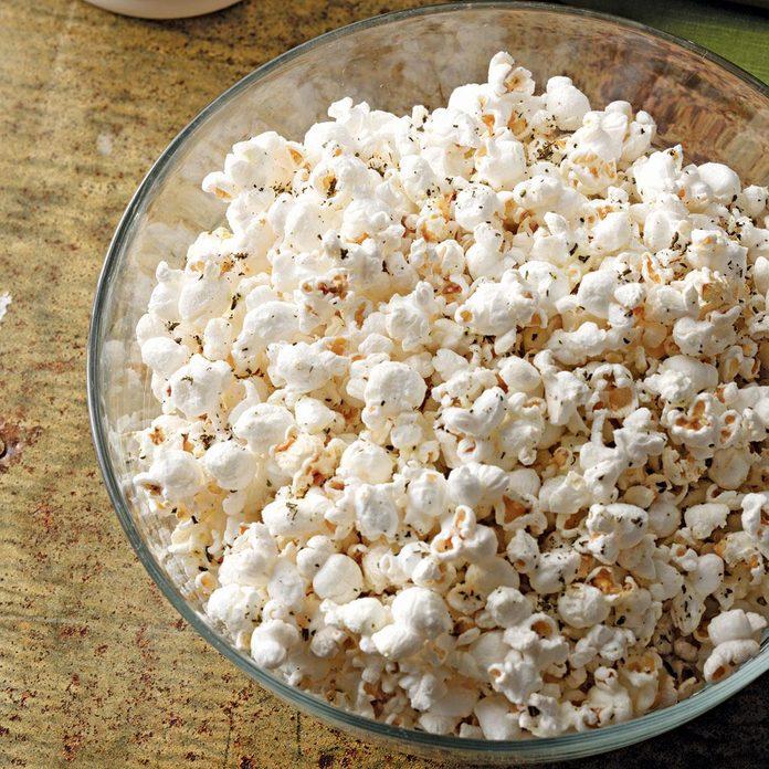 Rosemary-Parmesan Popcorn