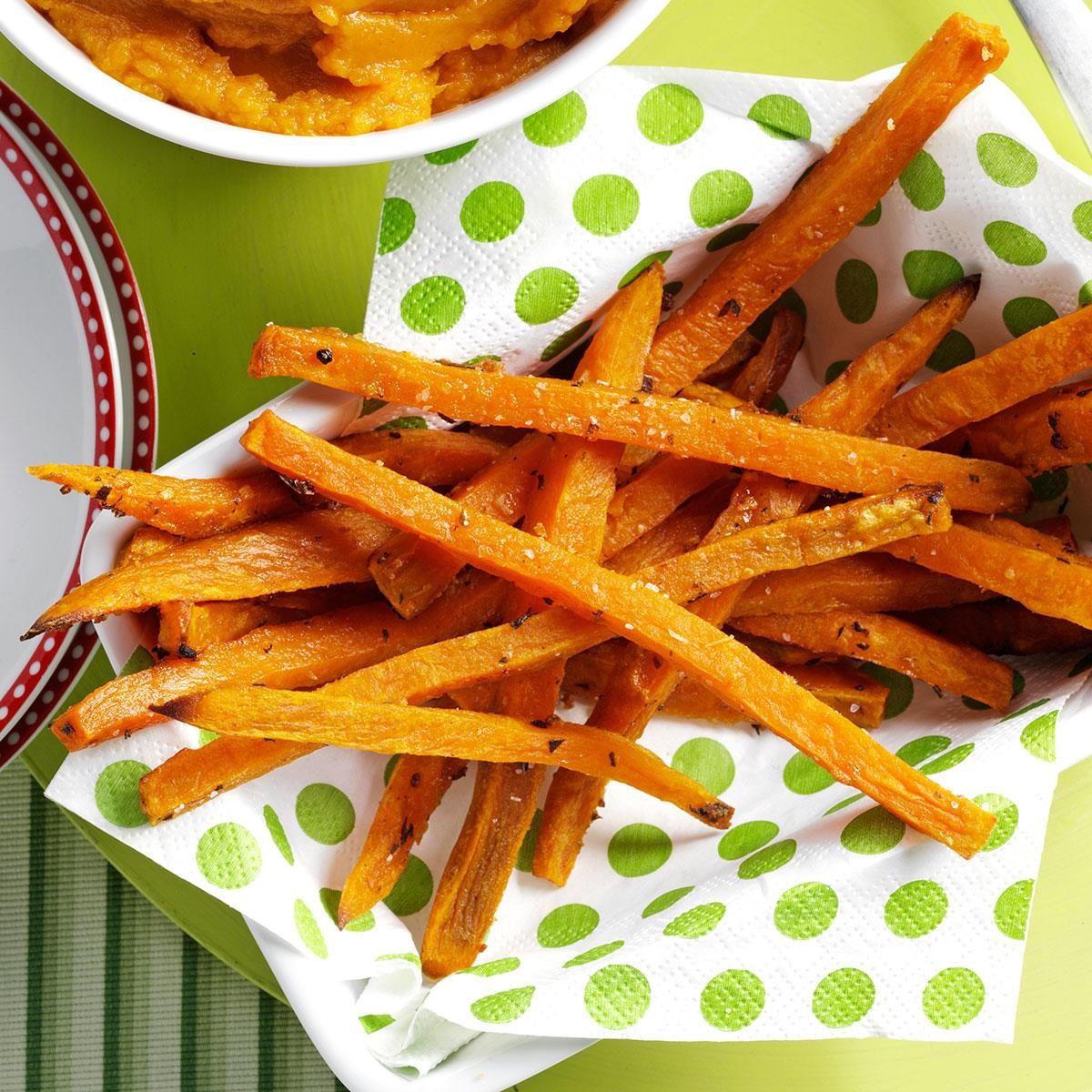 Rosemary Sweet Potato Fries Recipe
