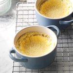 Rosemary & Thyme Lemon Pudding Cakes