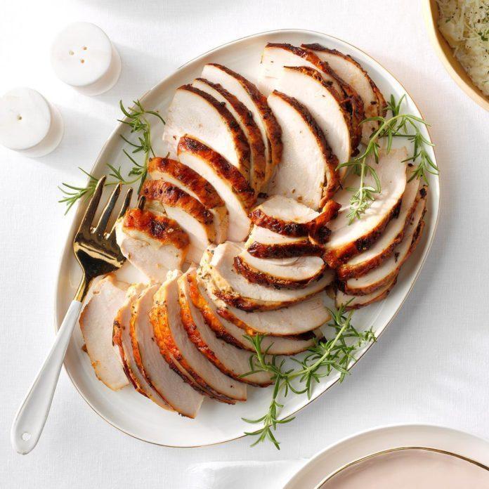 Non-Dairy Rosemary Turkey Breast