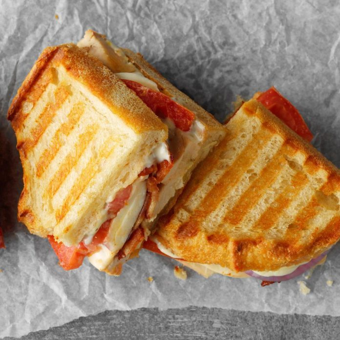 Inspired by: Starbucks Chicken Caprese Panini