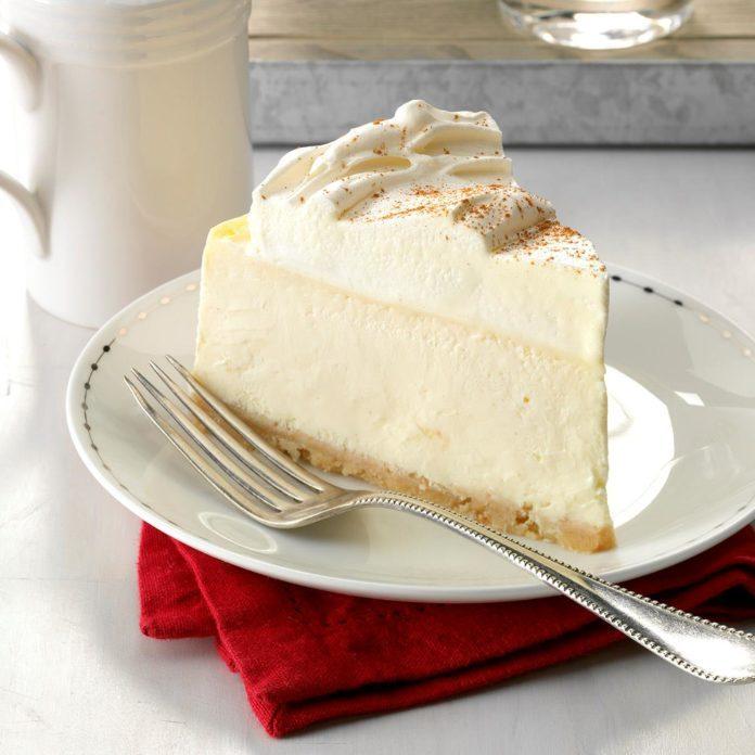 Day 11: RumChata Cheesecake