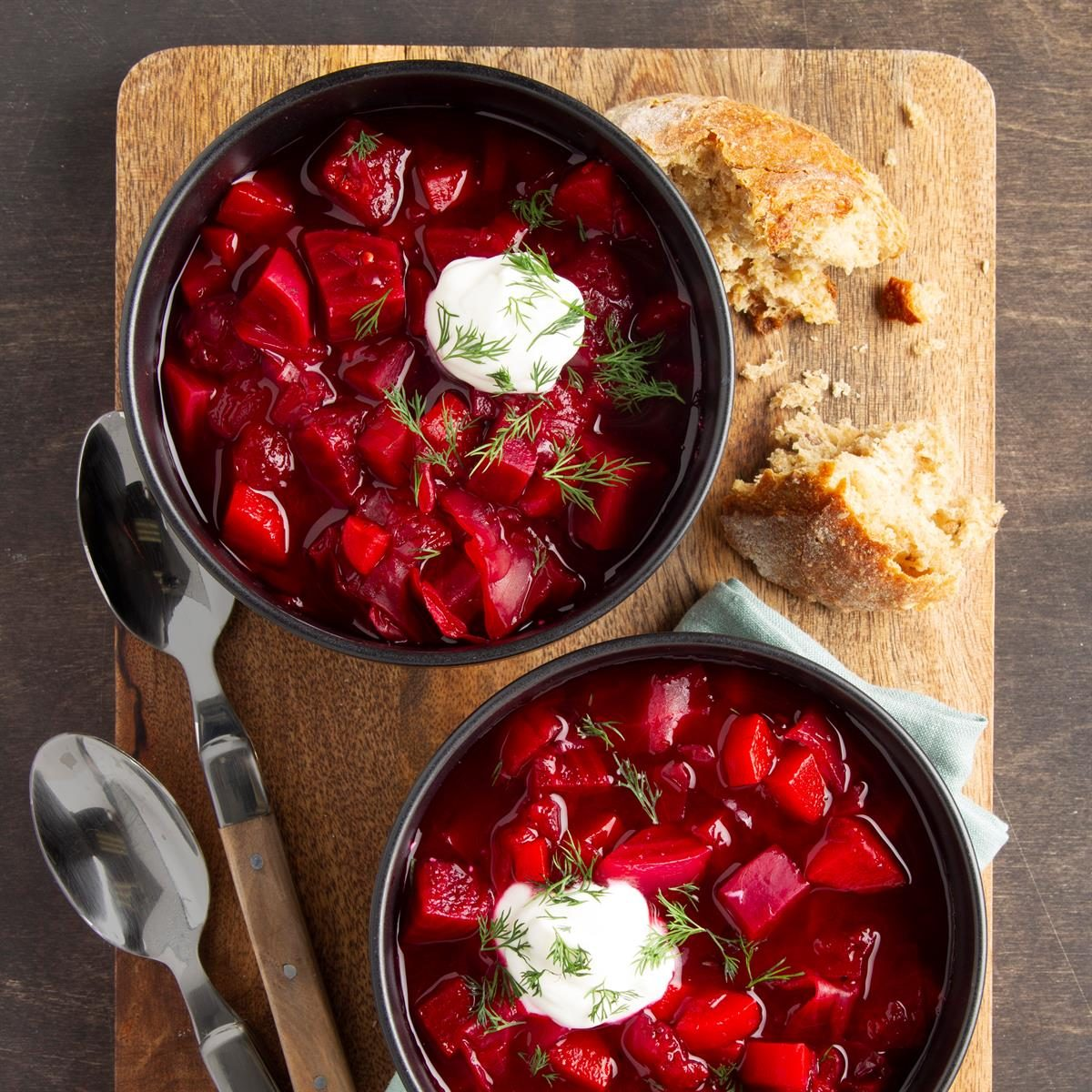 Russian Borscht Soup Recipe How To Make It Taste Of Home