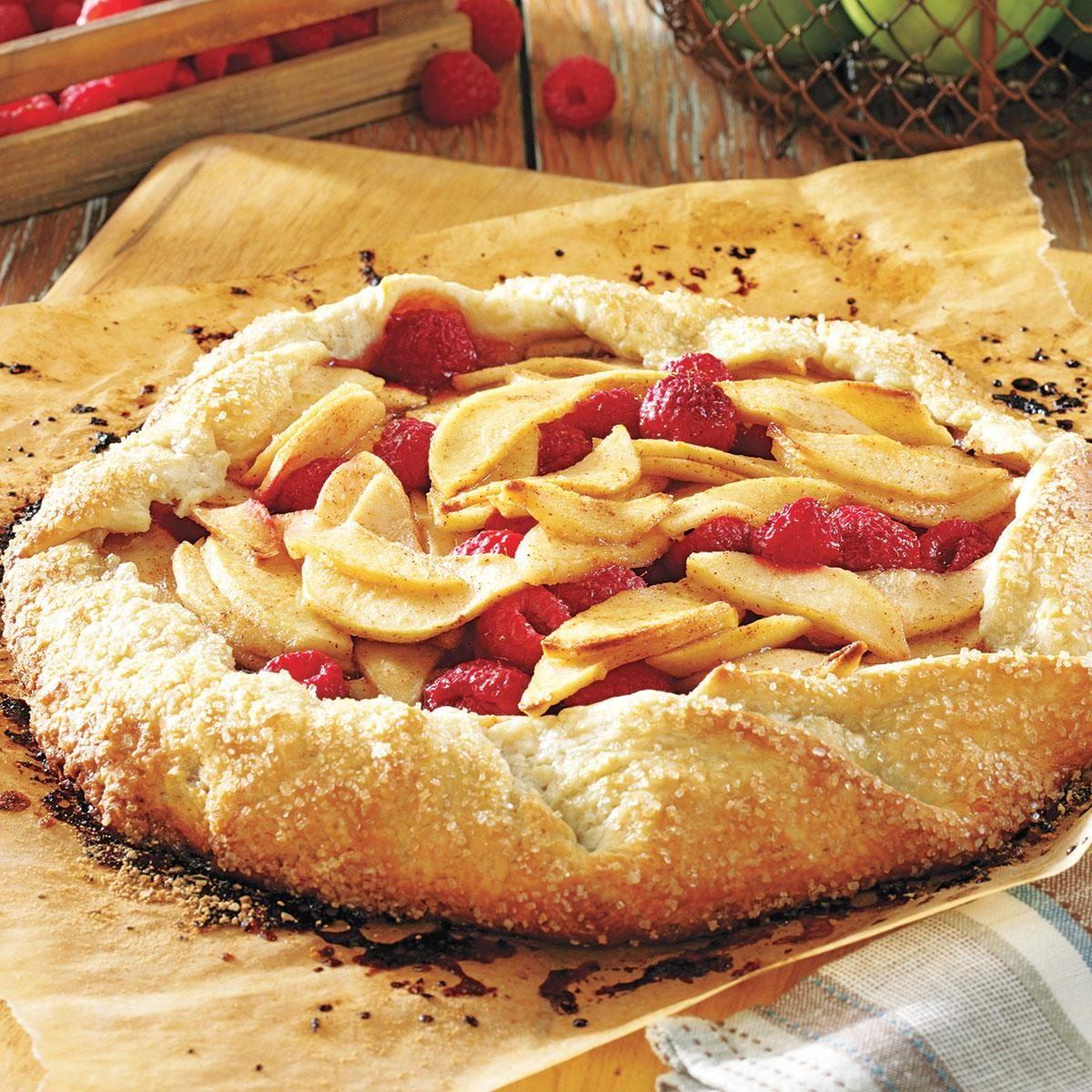 picture Rustic Apple Pie