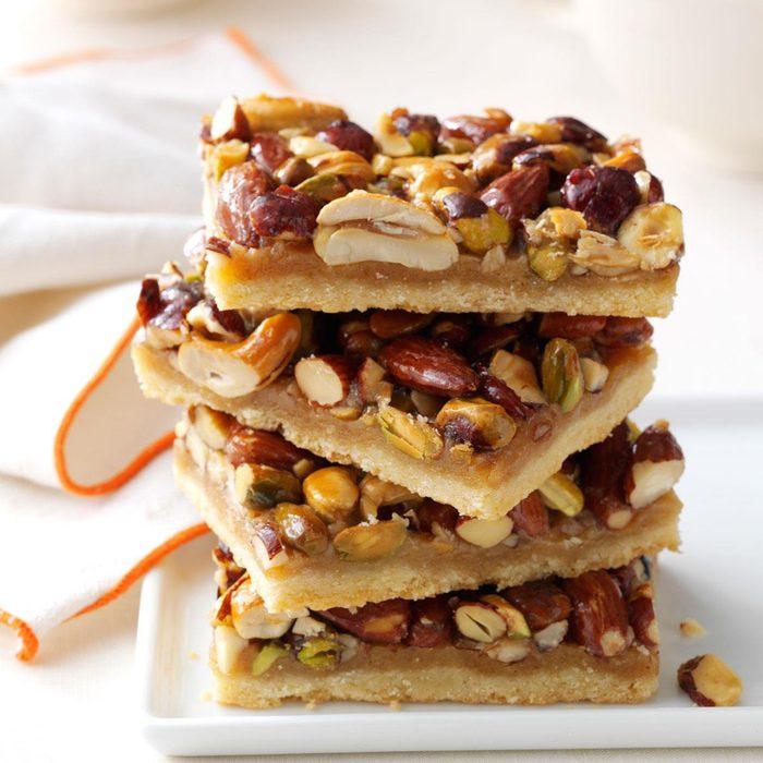 Rustic nut bars