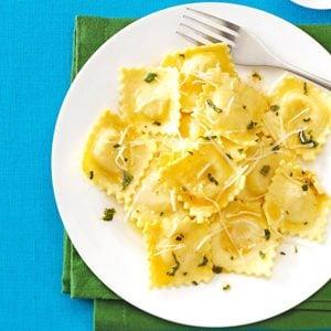 Sage & Browned Butter Ravioli