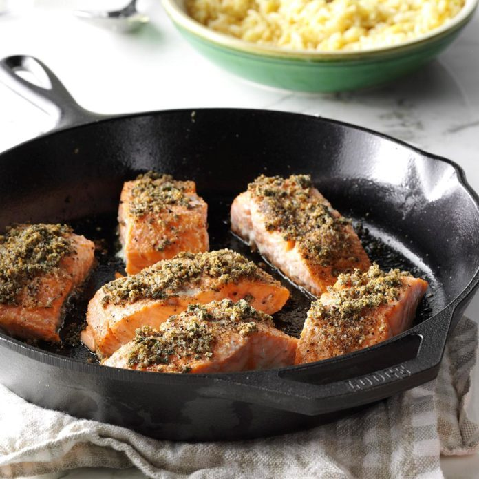 Sage-Rubbed Salmon