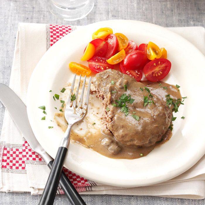 X: Salisbury Steak DeluXe
