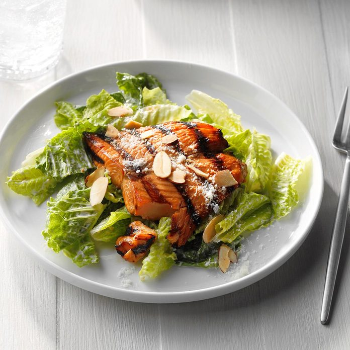 Salmon Caesar Salad