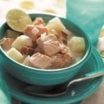 Salmon Chowder with Bacon