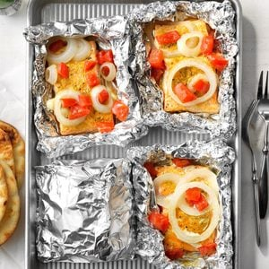 Salmon Grilled in Foil