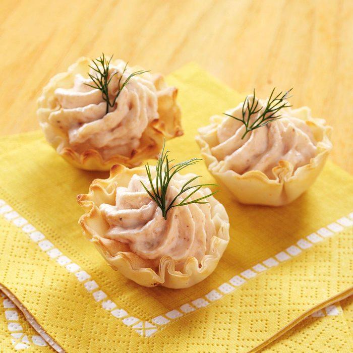 Salmon Mousse Tartlets