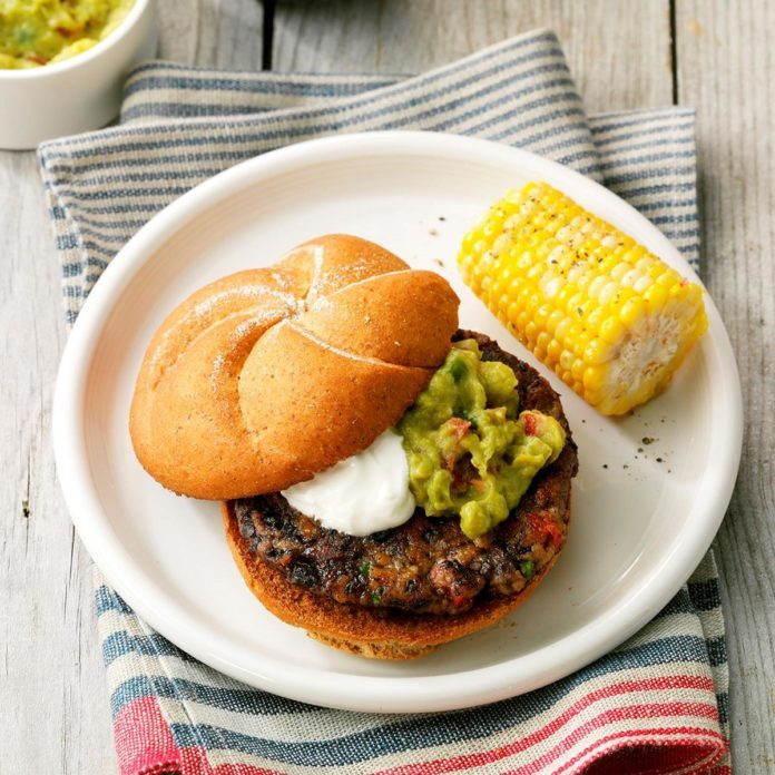 Day 1: Salsa Black Bean Burgers