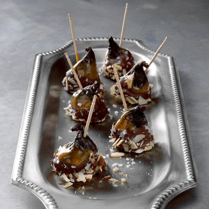 Salted Caramel & Dark Chocolate Figs