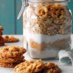 Salted Cashew Oatmeal Cookies