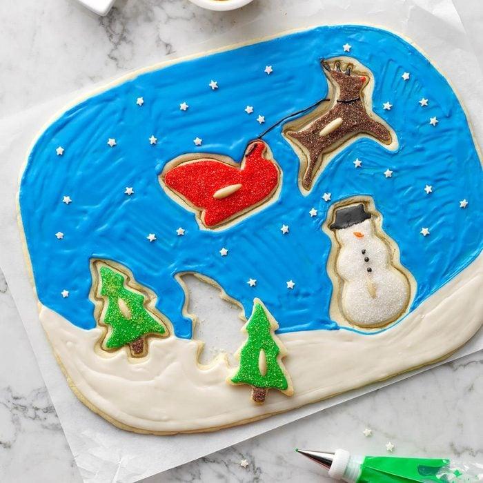 Santa's Coming Cookie Puzzle
