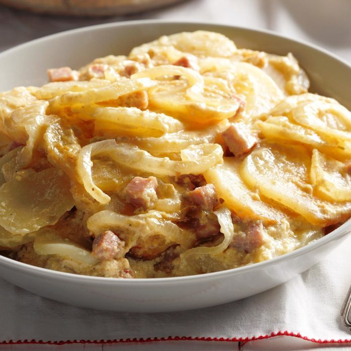 Day 7: Saucy Scalloped Potatoes