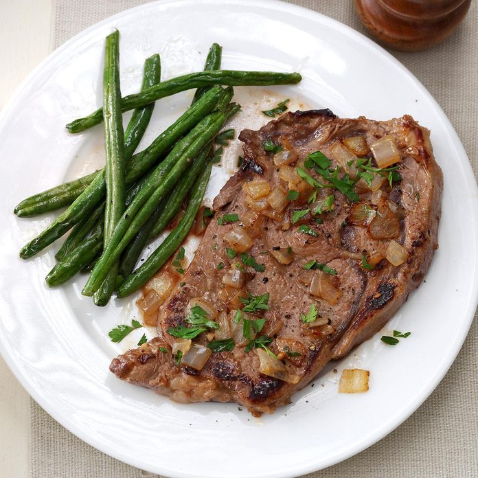 Saucy Skillet Steaks