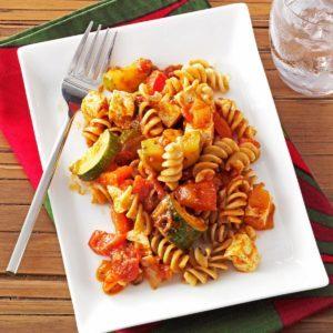 Saucy Veggie Spirals