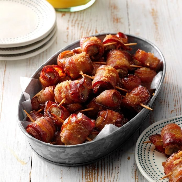 Sausage Bacon Bites