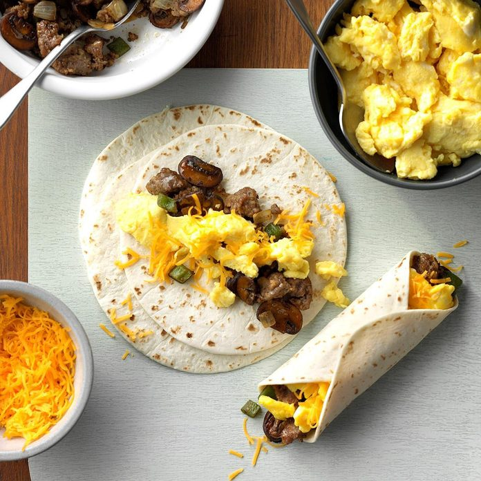 Inspired by: Qdoba Breakfast Burrito