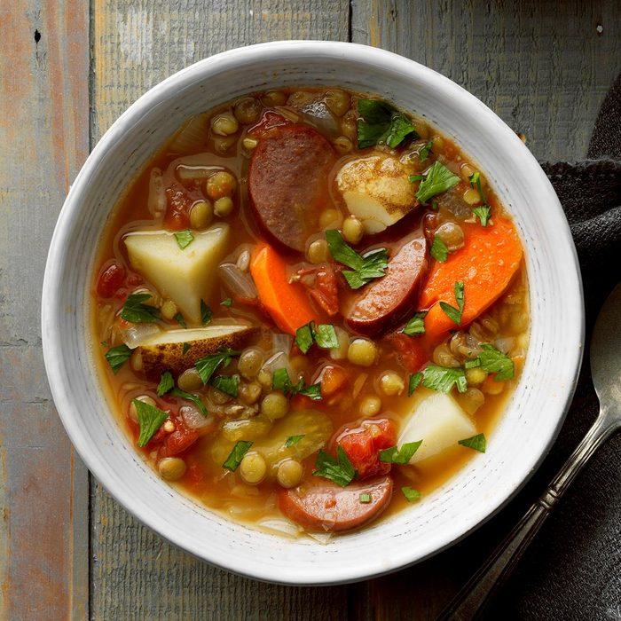 Sausage Lentil Stew
