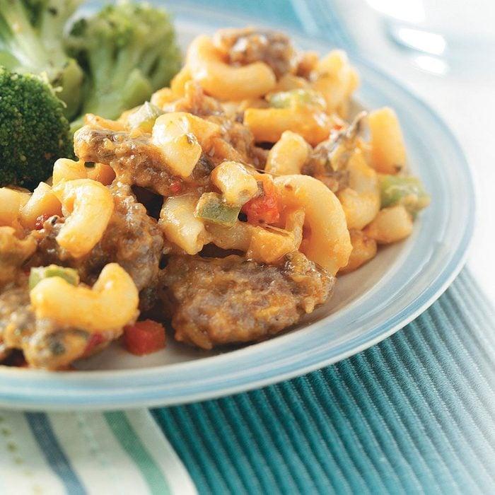 Sausage Macaroni Skillet