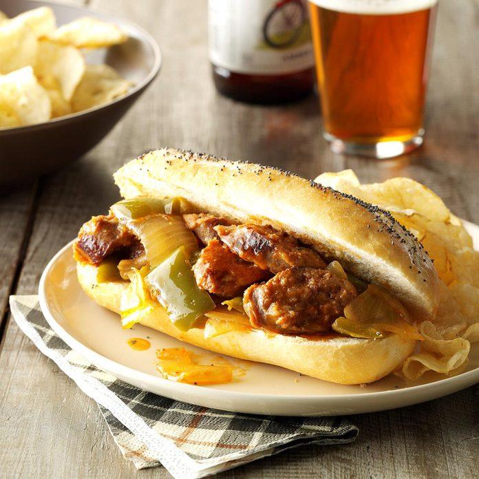 Sausage Pepper Sandwiches